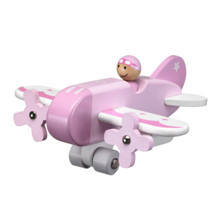 KIDS CONCEPT Avion, rose