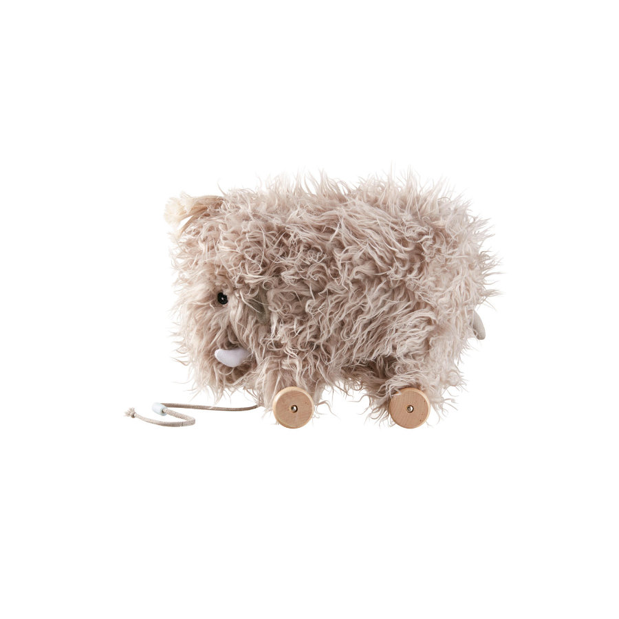 Kids Concept® Animal à tirer Neo, Mammouth bois