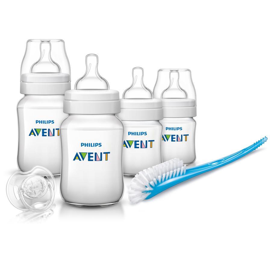 AVENT Classic Zestaw butelek i akcesoriów dla nowowrodka D371/00