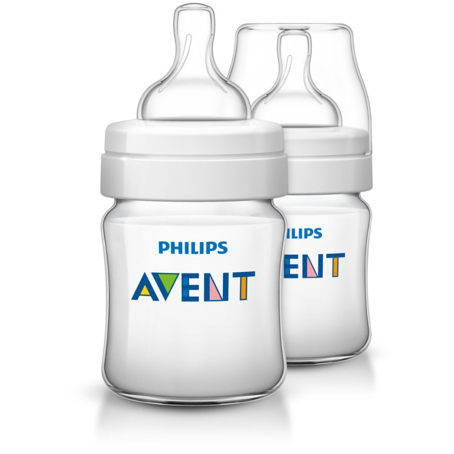 Philips AVENT SCF560/27 Babyfles Classic Anti-koliek 125ml 0m+ 2pack