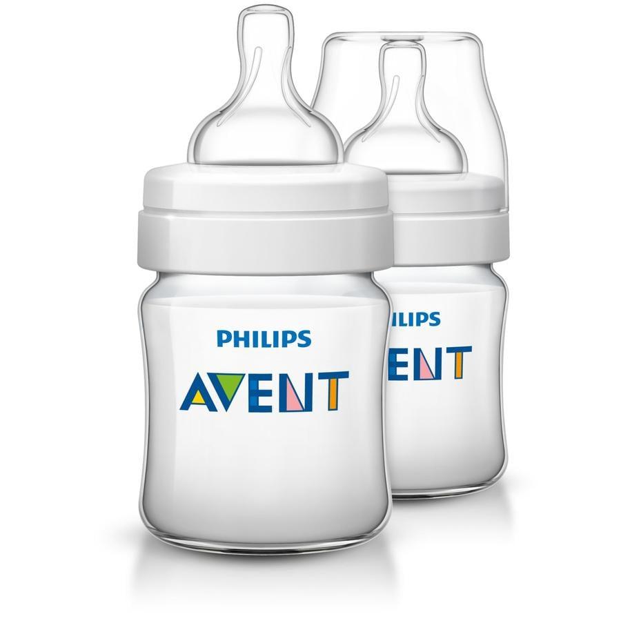 Philips AVENT SCF560/27 Biberon anti-colica Classic+ 125ml Confezione doppia 0m+