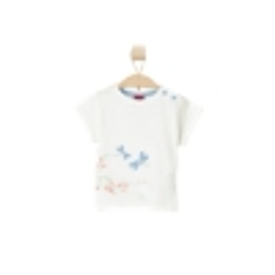 s.OLIVER Girls T-Shirt ecru