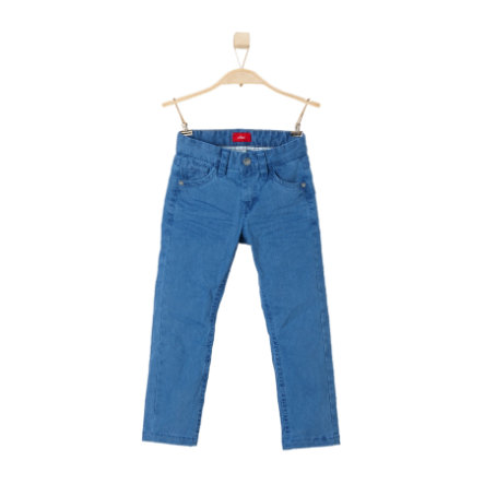 s.OLIVER Boys Hose blue stripes slim