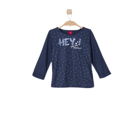 s.OLIVER Girls Longsleeve dark blue