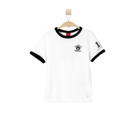 s.OLIVER Boys T-Shirt Wildekerle wit