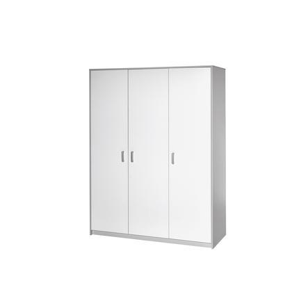 SCHARDT Armoire 3 portes CLASSIC GREY
