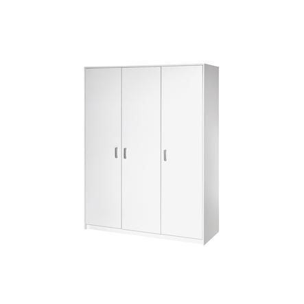 Schardt Kleiderschrank Classic White 3-türig