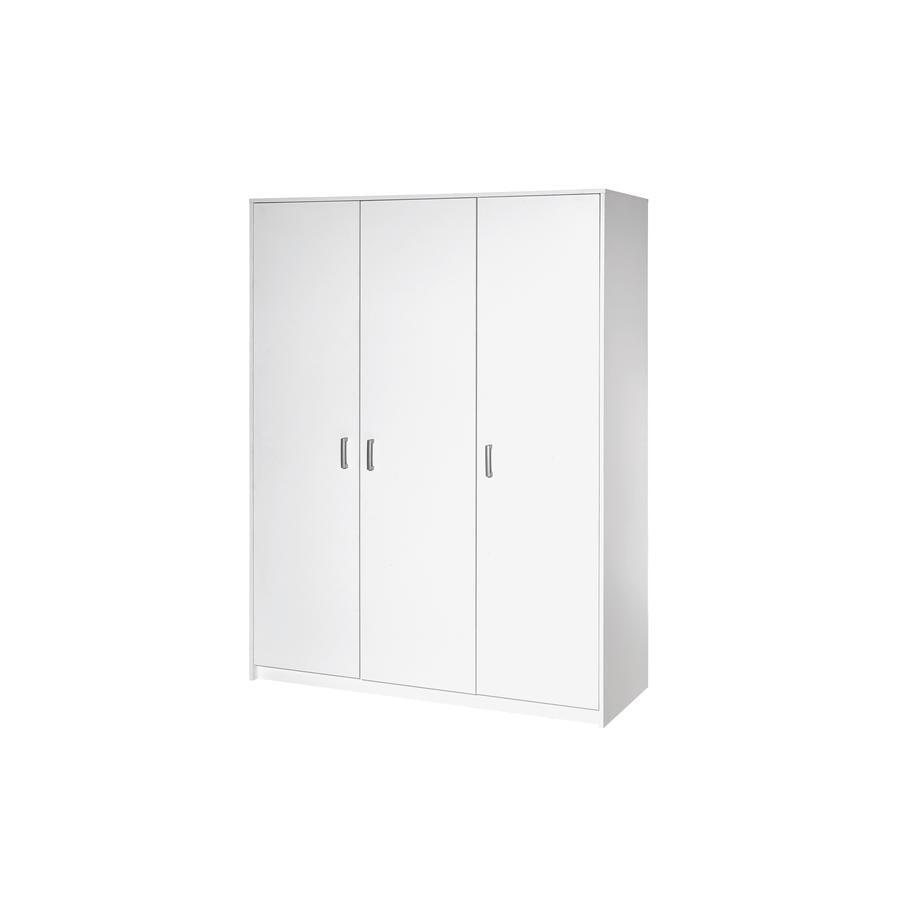 SCHARDT Armoire 3 portes CLASSIC WHITE
