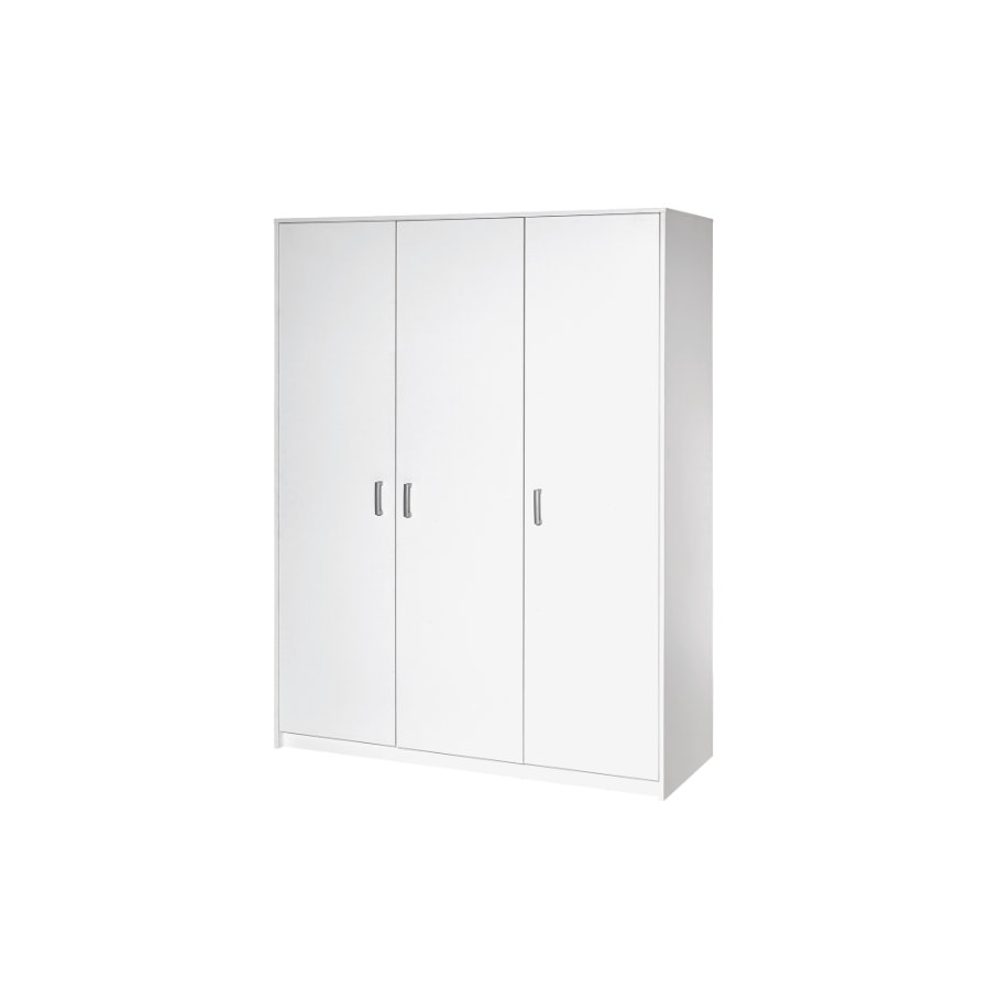 schardt kleiderschrank classic white 3 t rig. Black Bedroom Furniture Sets. Home Design Ideas