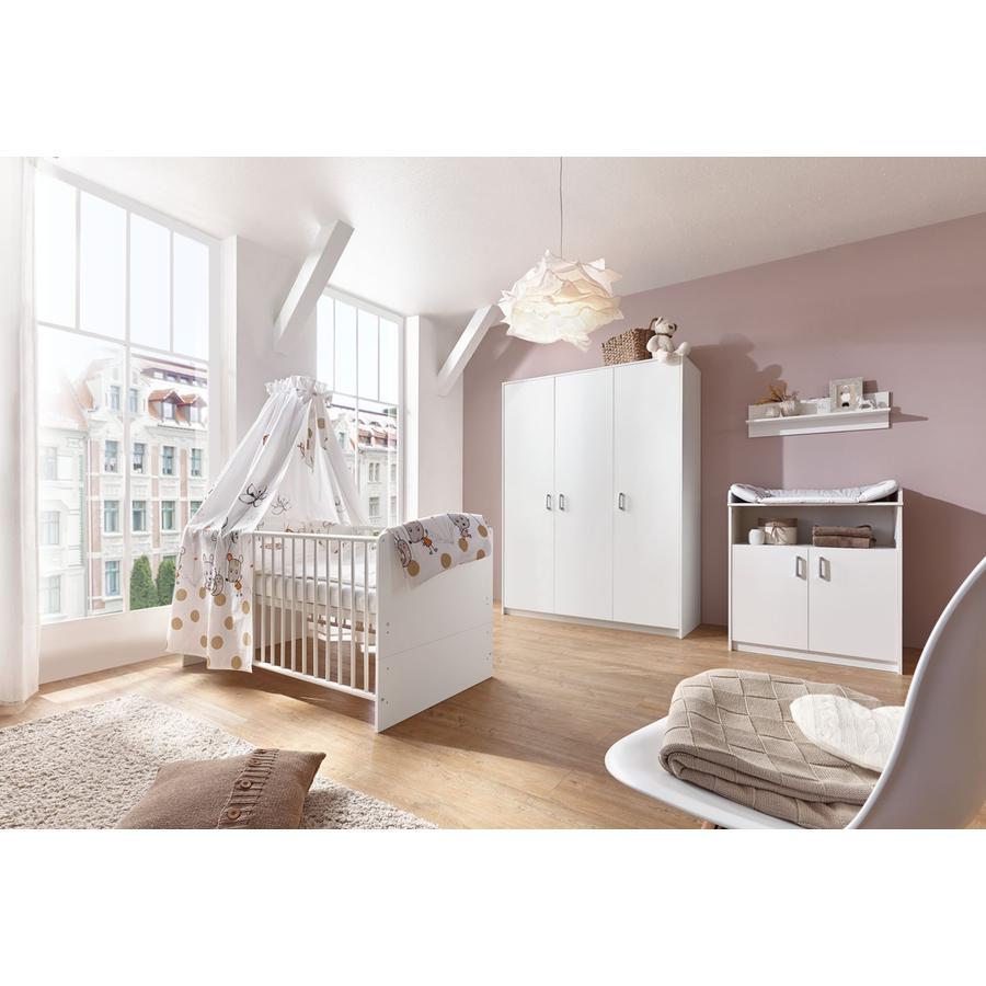 Schardt Børneværelse Classic White 3-døre