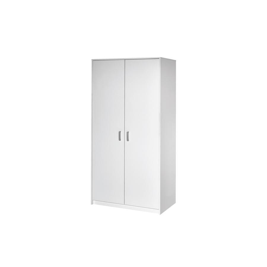 Schardt Kleiderschrank Classic White 2-türig
