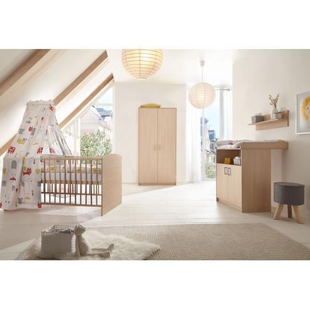 SCHARDT Ensemble chambre d'enfant, armoire 2 portes CLASSIC HÊTRE