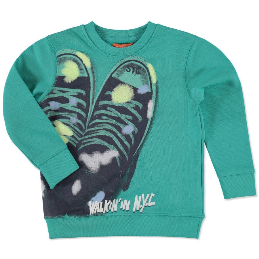 STACCATO Boys Mini Sweatshirt green