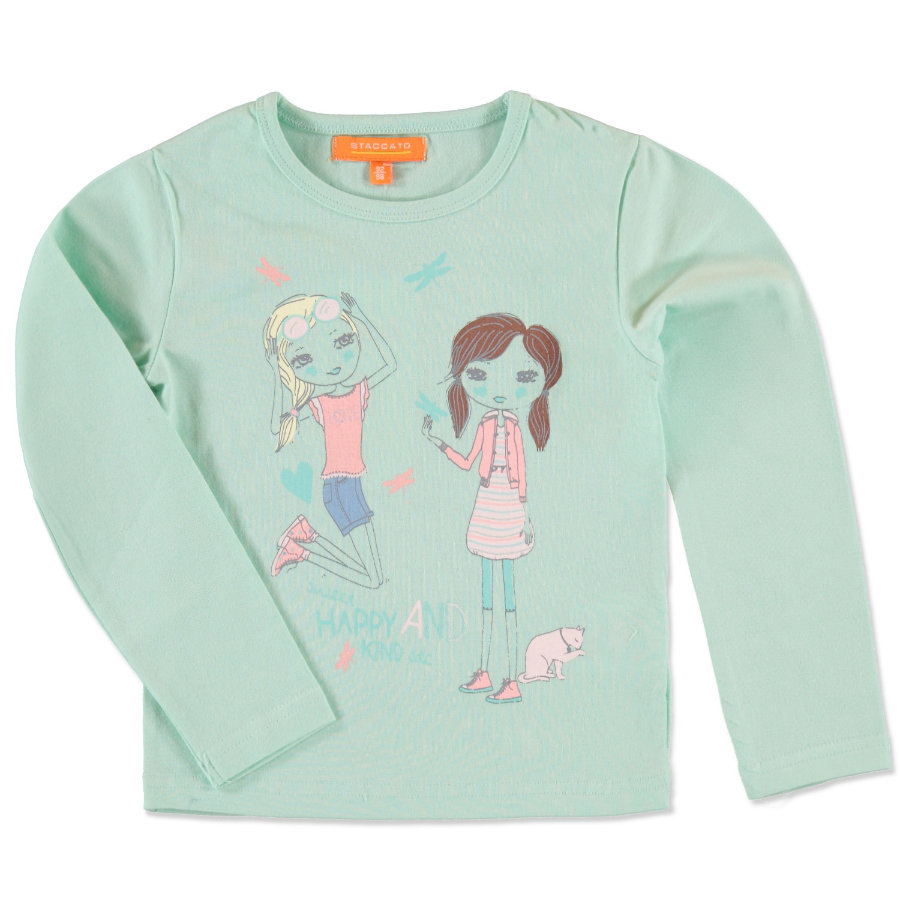 STACCATO Girls Mini Shirt opal