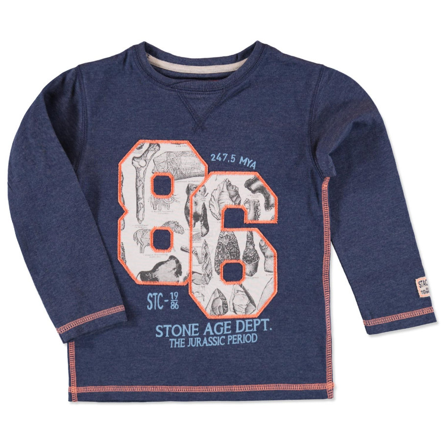 STACCATO Boys Mini Shirt denim blue melange