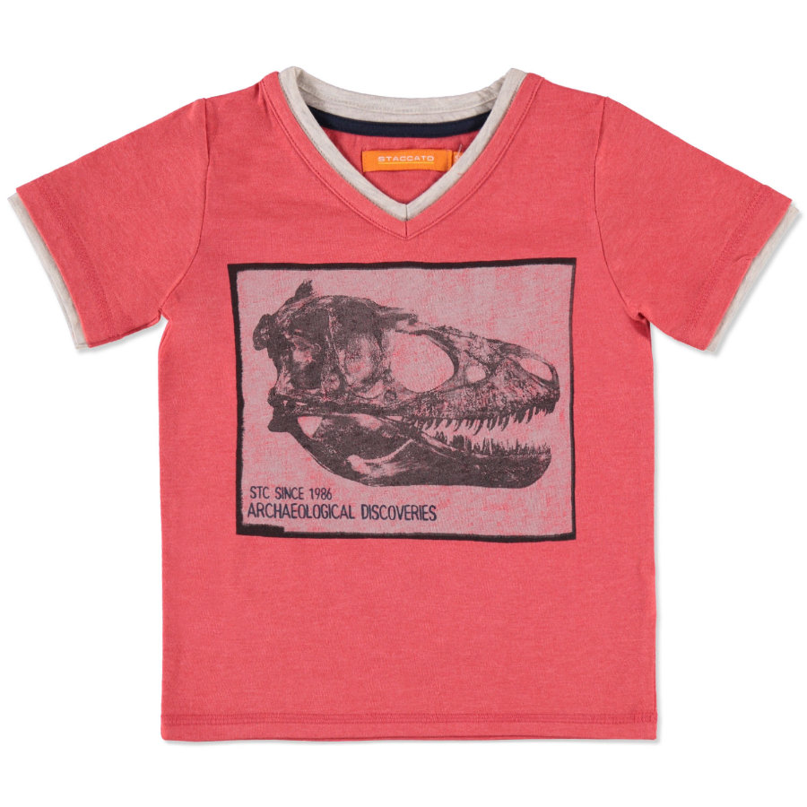 STACCATO Boys Mini T-Shirt soft red melange