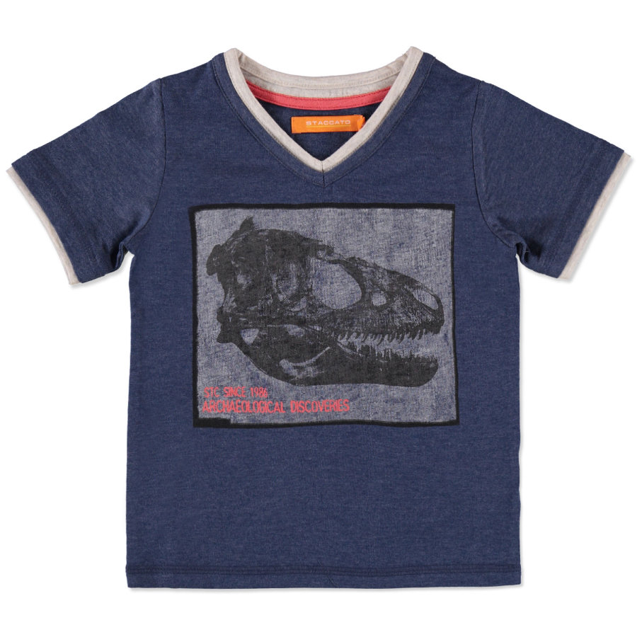 STACCATO Boys Mini T-Shirt denim blue melange