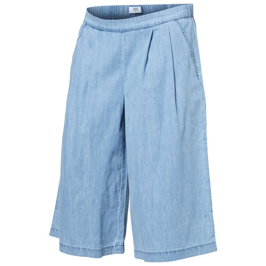 MAMA LICIOUS MLTANJA - Pantaloncini MLTANJA Denim Cluotte