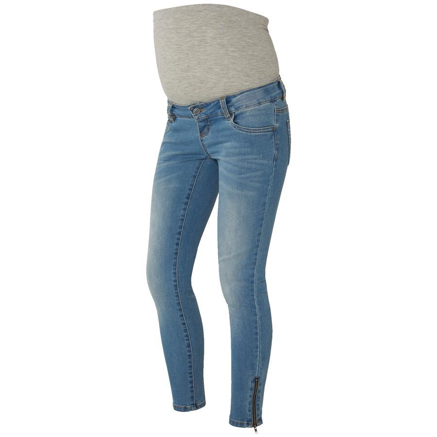 mama licious Circostanza 7/8 Pantaloni blu chiaro Lunghezza: 34