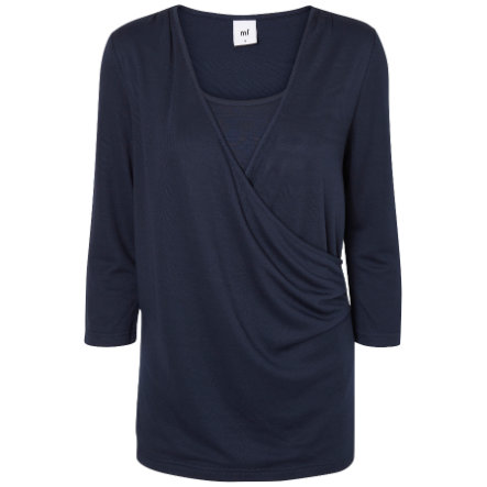 mama licious Umstands Longsleeve MLHADLEY TESS navy