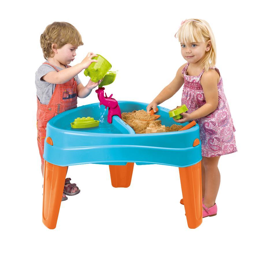 FEBER Spieltisch 2 mit Abdeckung und Zubehör