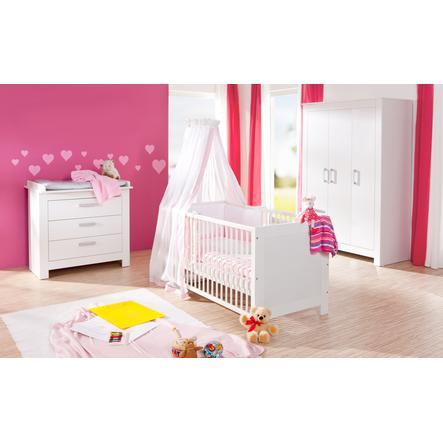 Geuther Kinderzimmer Marlene 3-türig weiß