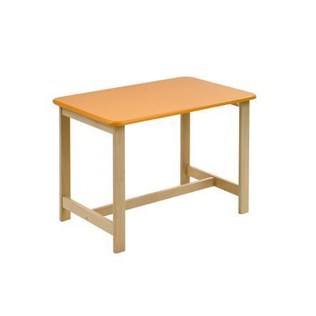 Geuther Mesa infantil Pepino natura-naranja
