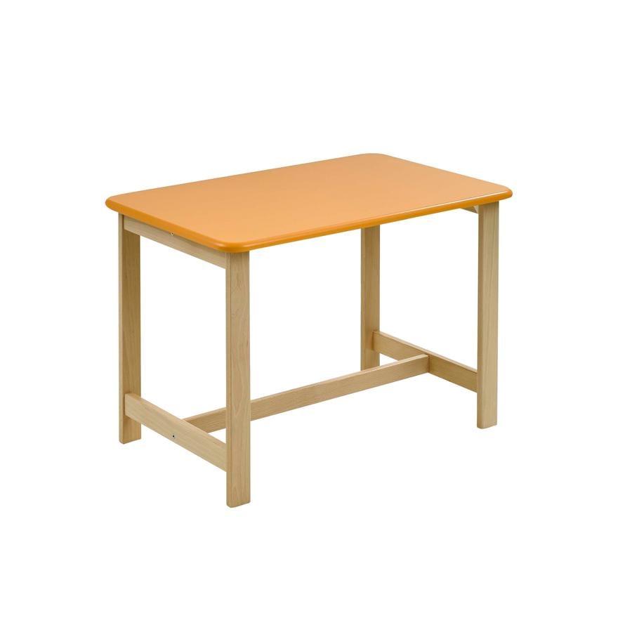 GEUTHER Dětský stůl PEPINO - přírodní/žlutý/zelený