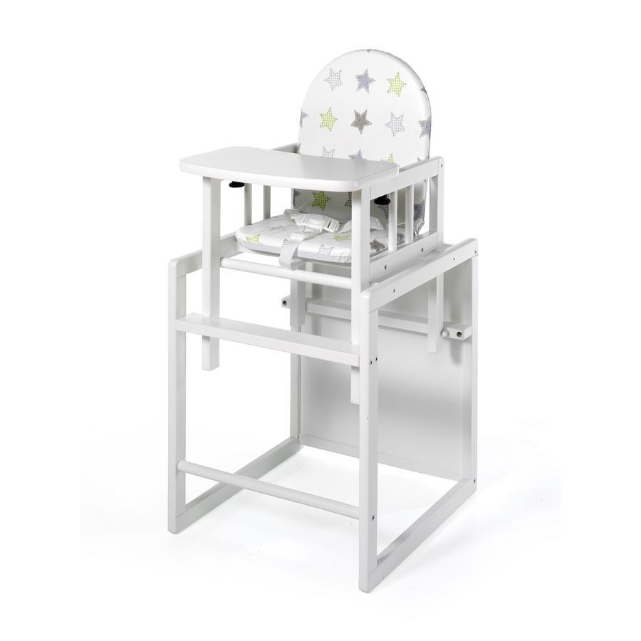 Geuther Jídelní židlička Nico bílá 032 hvězdy