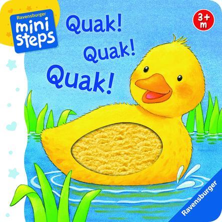 RAVENSBURGER ministeps - Quak! Quak! Quak!