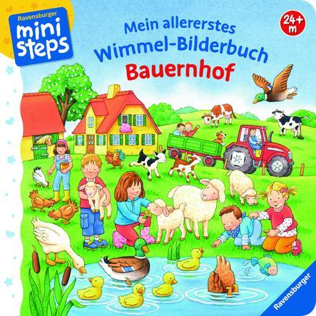 RAVENSBURGER ministeps - Mein allererstes Wimmel-Bilderbuch: Bauernhof