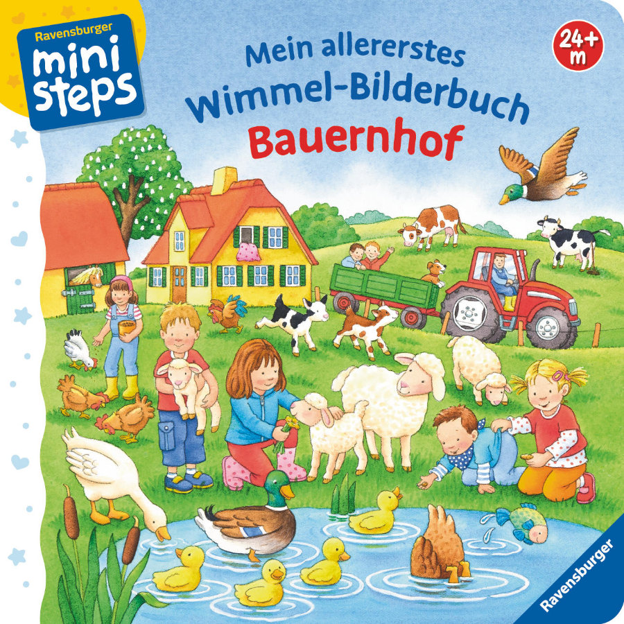 ravensburger ministeps mein allererstes wimmel bilderbuch bauernhof. Black Bedroom Furniture Sets. Home Design Ideas