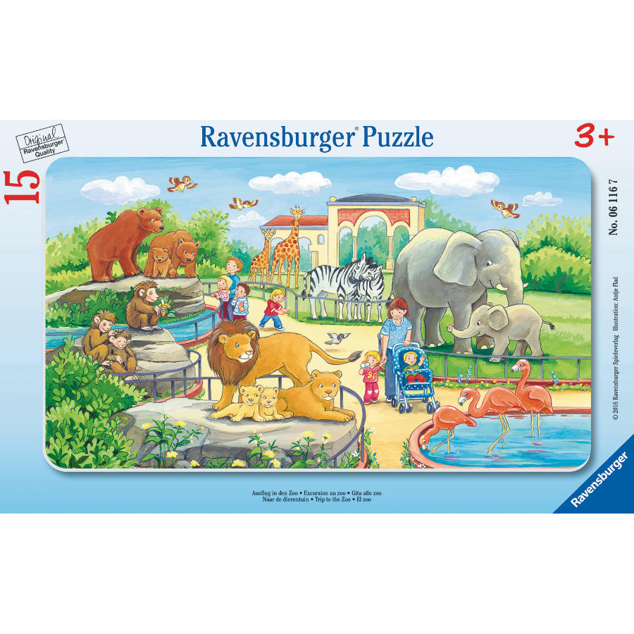 RAVENSBURGER Rampussel - Zoo