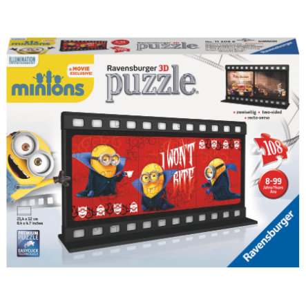 RAVENSBURGER 3D Puzzle Filmstreifen - Minion-Gone Batty