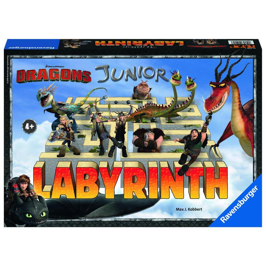 RAVENSBURGER Draci - Junior Labyrinth