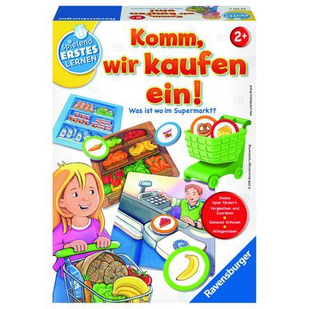 RAVENSBURGER Spielend erstes Lernen: Komm, wir kaufen ein!