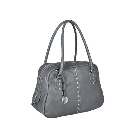 LÄSSIG Skötväska Premium Label Fair & Lässig Bowler Bag grey