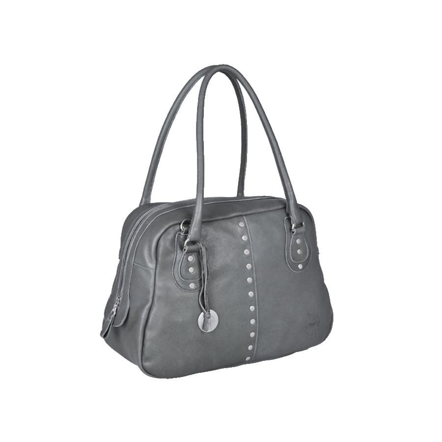LÄSSIG Luiertas Premium Label Fair & Lässig Bowler Bag grey
