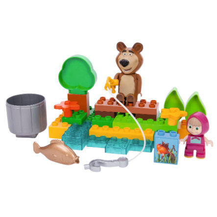 BIG PlayBIG Bloxx Masha and the Bear Go Fishing