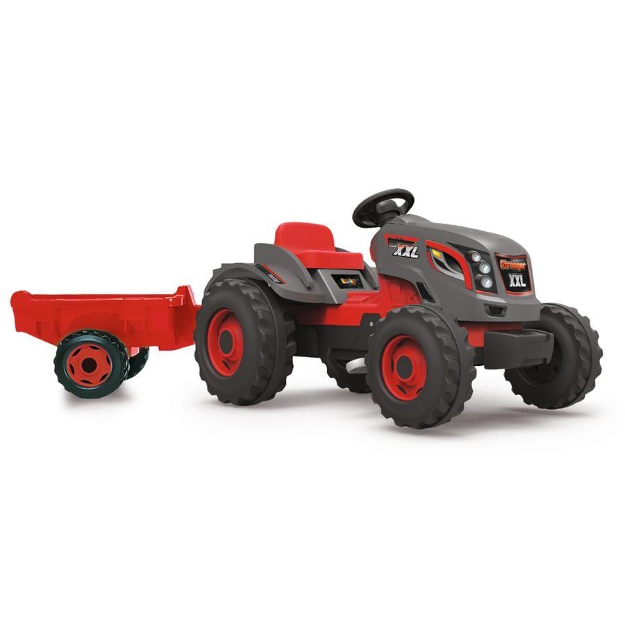 Smoby Tracteur Stronger XXL et remorque