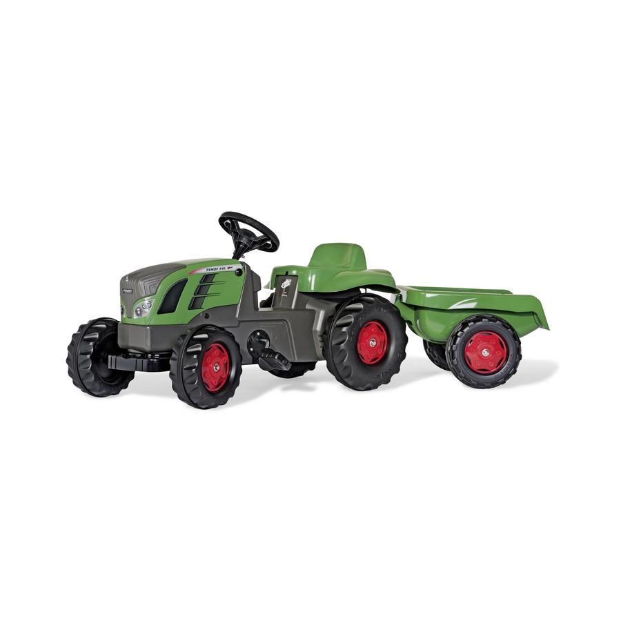 ROLLY TOYS Traktor Fendt 516 Vario z przyczepą rollyKid Trailer 013166