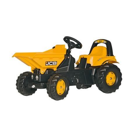 rolly®toys Tracteur à pédales rollyKid Dumper JCB benne jaune 024247