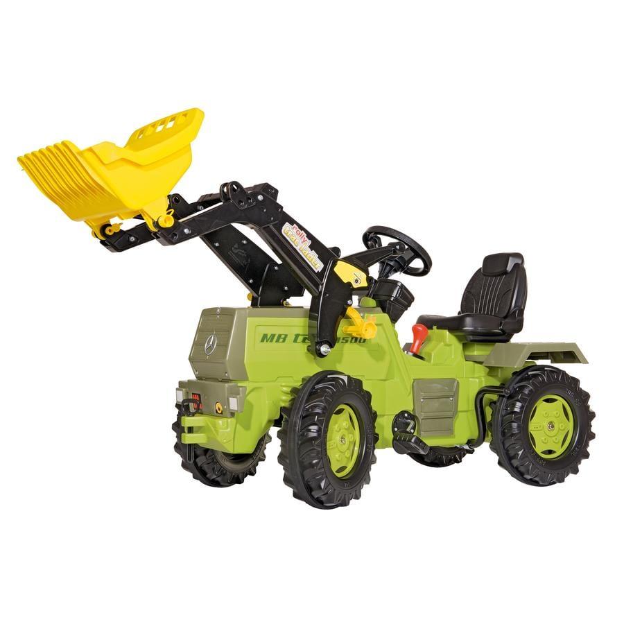 ROLLY TOYS rollyFarmtrac MB 1500 Traktor s rollyTrac Nakládačem, Převodem a brzdou 046690