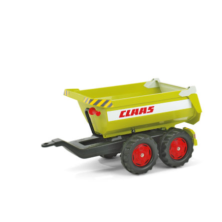 rolly®toys Remorque benne pour tracteur enfant rollyHalfpipe Claas 122219