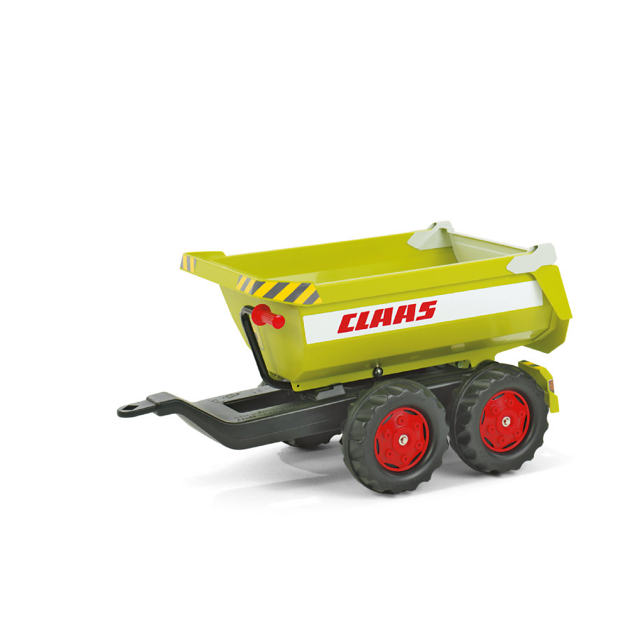 ROLLY TOYS - rimorchio rollyHalfpipe Claas 122219