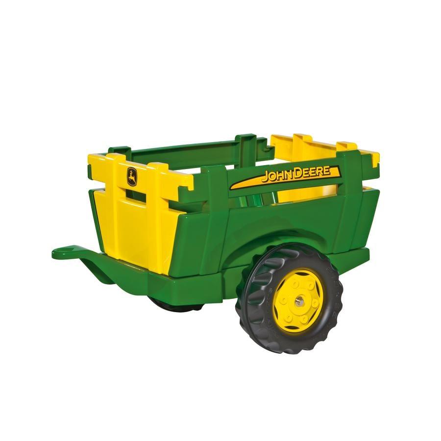 ROLLY TOYS rimorchio - rollyFarm Trailer John Deere 122103, verde e giallo