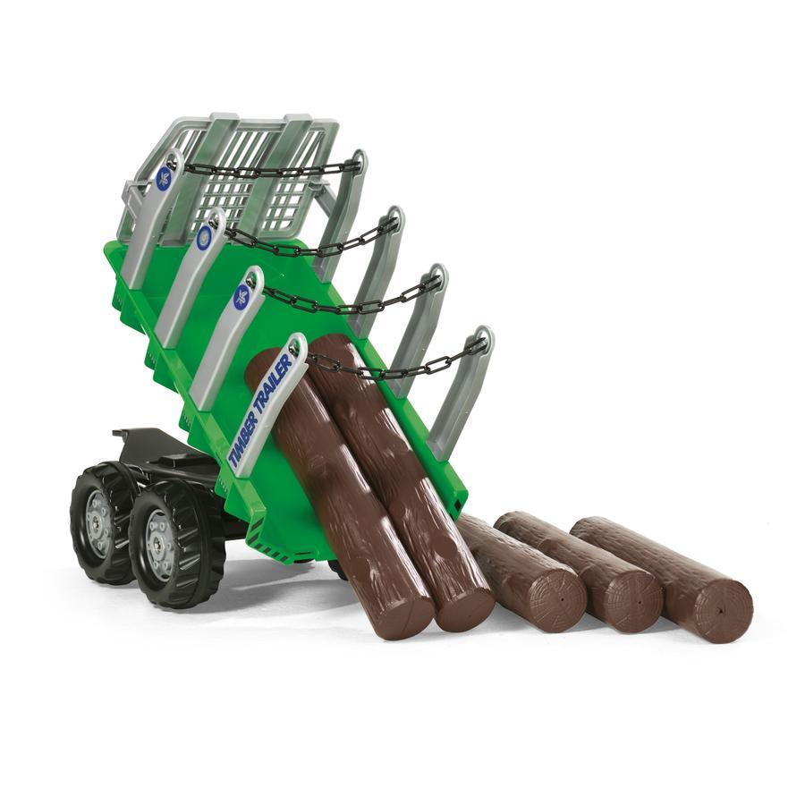 rolly®toys Tráiler de carga para madera 122158