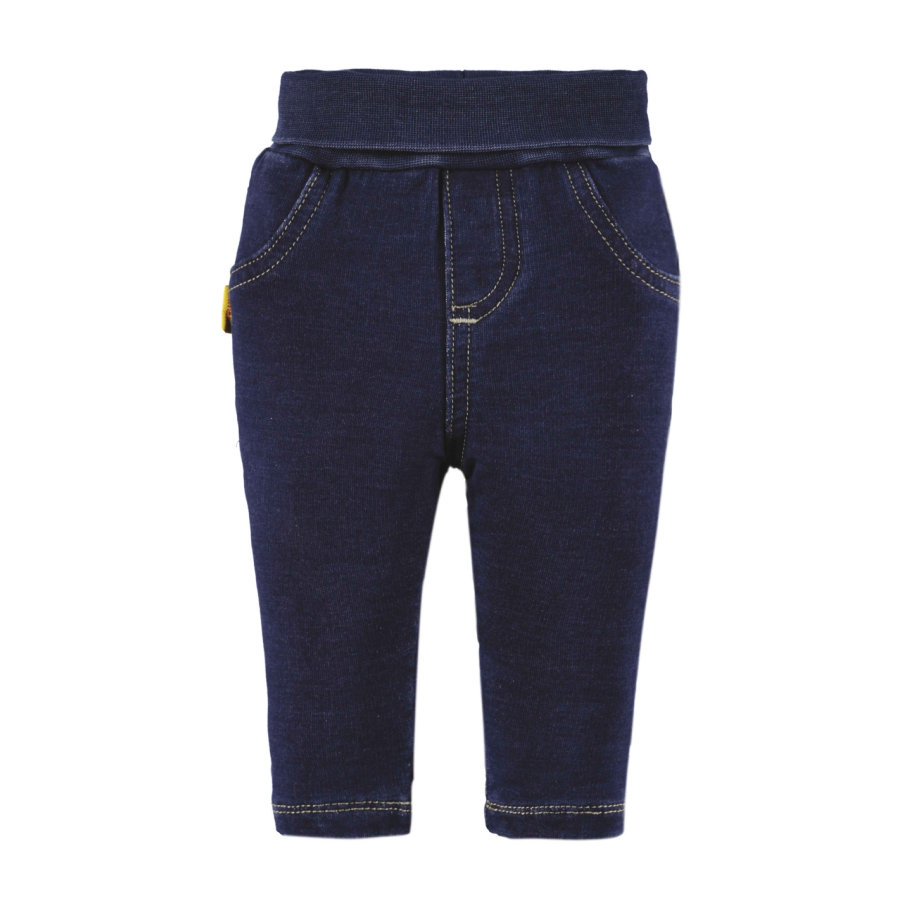 STEIFF Girls Spodnie Jeggings dark blue denim