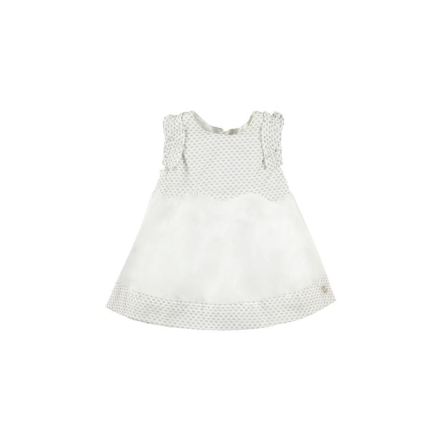 KANZ Girls Šaty jasně bílé
