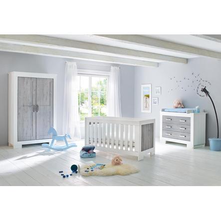 Pinolino Cameretta neonato Lolle, con armadio a 2 ante, largo